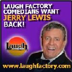 Laugh Factory, Jerry Lewis, Muscular Dystrophy, Wayne Powers, News Talk 1110 WBT, Charlotte
