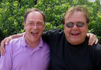 Wayne Powers and Paul Sorvino visit.  Charlotte, NC  2006